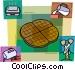 Waffles Vector Clip Art image