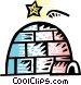Igloos Vector Clip Art picture