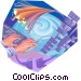 Fibre Optics Vector Clip Art picture