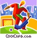Field Hockey Vector Clip Art picture