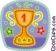Father's Day Vector Clipart graphic
