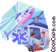 Air Ambulance Vector Clip Art picture