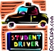 Driving School Vector Clip Art picture