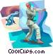 Judo Vector Clipart picture