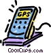 GPS Global Positioning Vector Clipart illustration