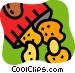 Potato Chips Crisps Vector Clip Art image