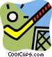 Field Hockey Vector Clipart image