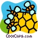 Honey Vector Clipart image
