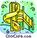 slide Vector Clip Art image