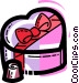 Valentine Candy Vector Clip Art image