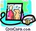 Family Photos Vector Clip Art image