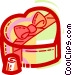 Valentine Candy Vector Clip Art graphic