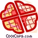 Waffles Vector Clipart image