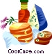 EU European cuisine Vector Clip Art picture