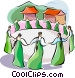 Religious Holidays Korea Ch'usok Vector Clip Art picture
