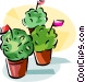 Portugal Manjerico plant Vector Clip Art picture