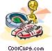 Soccer in Portugal Vector Clip Art image