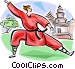 Chinese GongFu Vector Clipart graphic