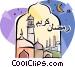 Ramadan Greeting Vector Clipart image