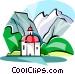 Watzmann Mountain Vector Clipart image