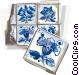 Portugal azulejo tiles Vector Clipart illustration