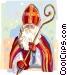 Dutch Christmas Sinterklaas Vector Clipart picture
