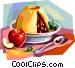 British cuisine Vector Clipart graphic