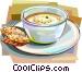 British cuisine Vector Clip Art image