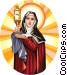 Saint Claire Vector Clipart picture
